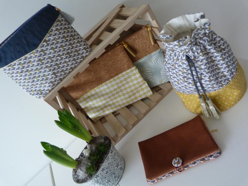 Pochettes et sac besace