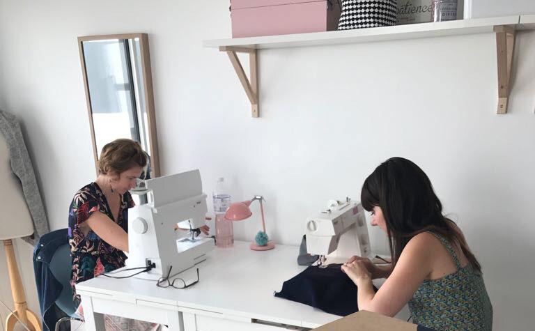 Cours de couture Vannes, Couds Couds la Praline